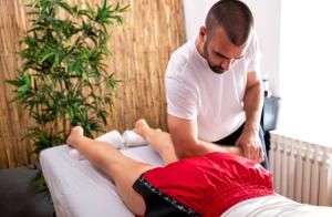 exercices de massage anti-douleur